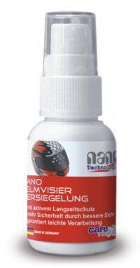 Нано покрытие для щитка (забрала) шлема мотоциклиста