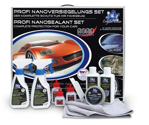 Комплект профессиональных нанопокрытий для автомобиля